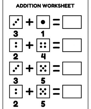 dice, addition, math, download, free, homework, kids, pdf, printable, school, work, worksheet