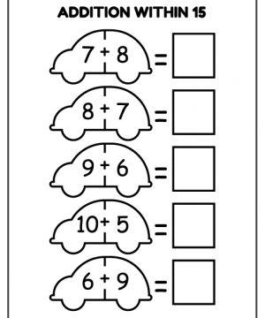 addition, within, download, free, homework, kids, pdf, printable, school, work, worksheet